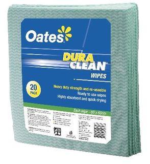 OATES DURACLEAN WIPES 60x60 CM 20PK GRN