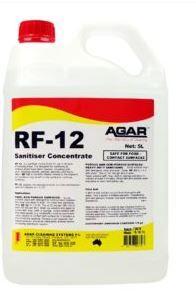 AGAR RF-12 RINSE FREE SANITISER 5LT