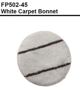 WHITE CARPET BONNET 450MM or 17inches - OATES