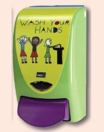 DEB STOKO PROLINE WASH YOUR HANDS DISPENSER 1LT