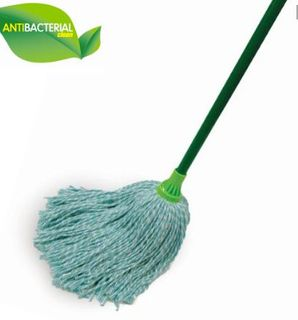 SABCO ANTIBACTERIAL COTTON MOP WITH HANDLE