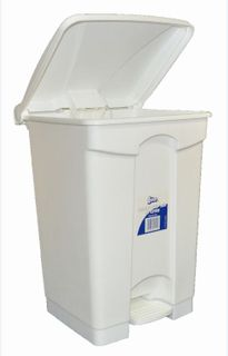 EDCO HANDY STEP BIN WITH PEDAL ASSEMBLED 47LT