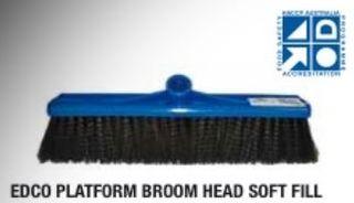 EDCO PLATFORM BROOM HEAD MEDIUM FILL 600MM
