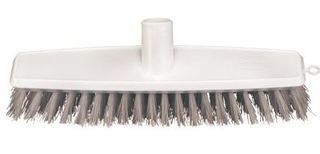OATES FLOOR SCRUB BRUSH WHITE 300mm