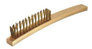 OATES 3 ROW OUTSIDE CONVERGED WIRE BRUSH No. 17