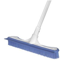 OATES ELECTROSTATIC BROOM WITH EXTENSION HANDLE
