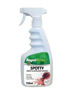 RAPID CLEAN SPOTTY CARPET & UPHOLSTERY SPOTTER 750ml