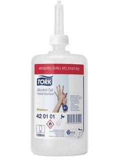 TORK ALCOHOL GEL HAND SANITISER PREM S1 1LT X 6