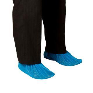 BASTION-CHLORINATED POLYETHYLENE SHOE COVER -BLUE- PK100