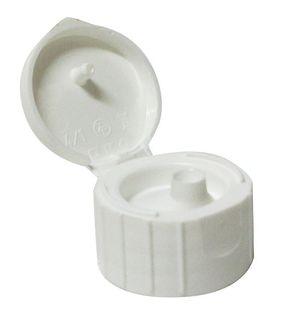 DOMINANT CAP FLIP TOP WHITE 3MM ORIFICE