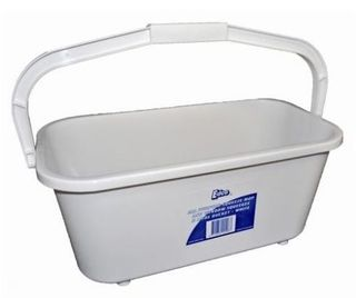 EDCO ALL PURPOSE MOP & SQUEEGEE BUCKET 11LT  WHITE