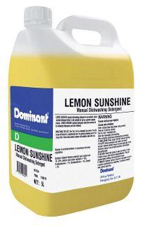DOMINANT LEMON SUNSHINE MANUAL DISH DETERGENT 5L