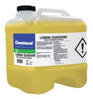 DOMINANT LEMON SUNSHINE MANUAL DISH DETERGENT 15L DRUM