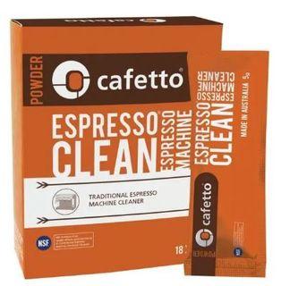 CAFETTO ESPRESSO CLEAN SACHET 18x5G BOX