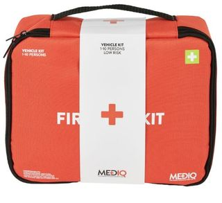 MEDIQ ESSENTIAL FIRST AID KIT VEHICLE IN SOFT PACK