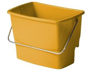OATES EZY ERGO SIDE BUCKET 7LT YELLOW