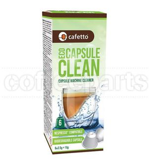 CAFETTO ECO CAPSULE CLEAN 6 X BOX