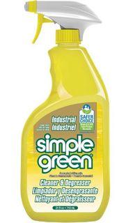 SIMPLE GREEN LEMON INDUSTRIAL CLEANER, DEGREASER, DEODORISER TRIGGER 710ML