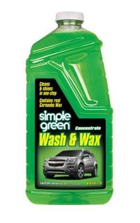 SIMPLE GREEN 2L CAR WASH AND WAX BOTTLE CONCENTRATRE