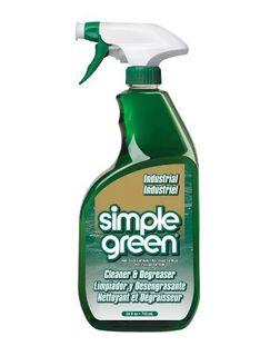 SIMPLE GREEN INDUSTRIAL CLEANER, DEGREASER, DEODORISER TRIGGER 710ML