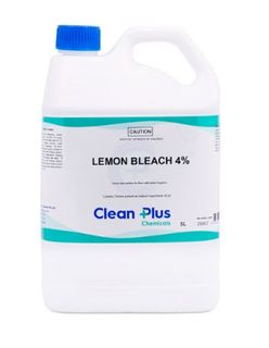 CLEAN PLUS LEMON BLEACH 4% 15L