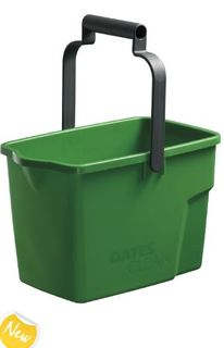 OATES GENERAL PURPOSE BUCKET PLASTIC 9 LT GREEN