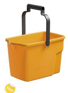 OATES GENERAL PURPOSE BUCKET PLASTIC 9 LT YELLOW