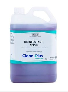 CLEAN PLUS DISINFECTANT APPLE 20L