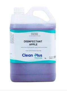 CLEAN PLUS DISINFECTANT APPLE 5L
