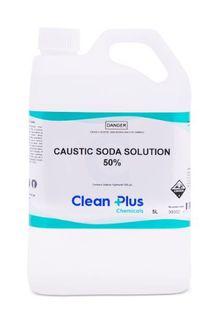 CLEAN PLUS CAUSTIC SODA SOLUTION 50% 5L