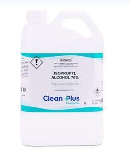 CLEAN PLUS ISOPROPYL ALCOHOL 70% (IPA) 5L