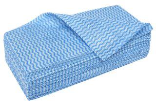 EDCO MERRIWIPE HEAVY DUTY WIPES 20PK  BLUE (2X5 10)