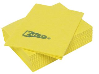 EDCO MERRITEX HEAVY DUTY VISCOSE CLOTH 10PK YELLOW (10 ONLY)