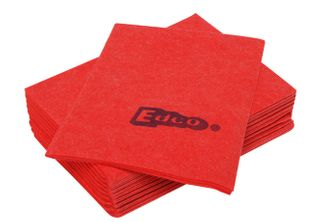 EDCO MERRITEX HEAVY DUTY VISCOSE CLOTH 10PK - RED (10 ONLY)