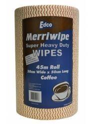 EDCO MERRIWIPE SUPER HEAVY DUTY WIPES COFFEE ROLLS
