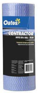 OATES CONTRACTOR WIPES ON A ROLL 50S BLUE