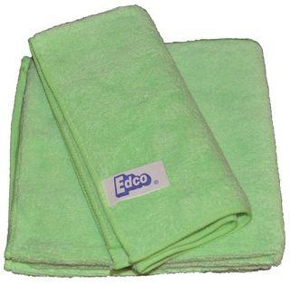 EDCO MERRIFIBRE UNIVERSAL MICROFIBRE CLOTH 3PK GREEN