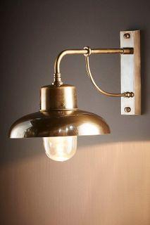 Bridgewater Outdoor Wall Light Brass