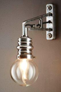 Carlton Outdoor Wall Light Silver