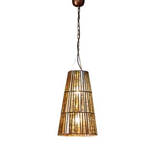 Cleveland Ceiling Pendant Large Brass