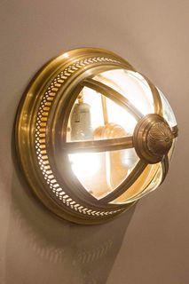 Walter Wall Light Antique Brass