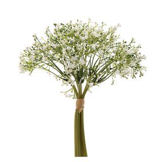 Baby Breath Bouquet 27cm Green & White