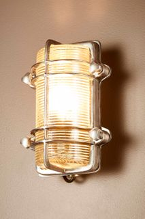 Harley Outdoor Wall Light Antique Silver