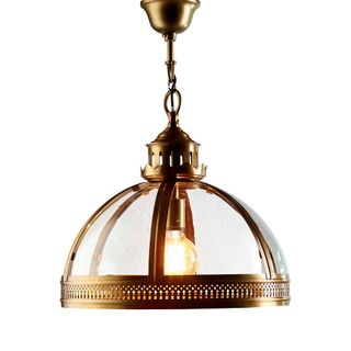 Winston Ceiling Pendant Small Brass