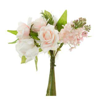 Peony Lilac Mix Bouquet 25cm Pink