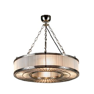 Franschhoek Ceiling Pendant Medium Silver