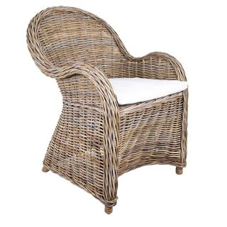 Long Island Wicker Chair with Cushion