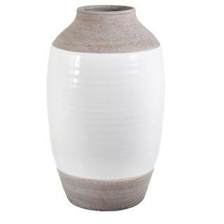 Ceramic Natural Vase Large