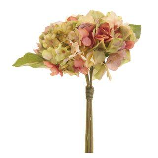 Hydrangea Bouquet 30cm Green