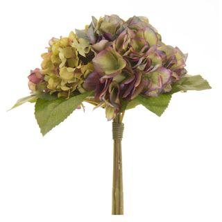 Hydrangea Bouquet 30cm Lavender